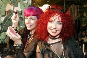 Snooky and Tish of Manic Panic ®NYC
