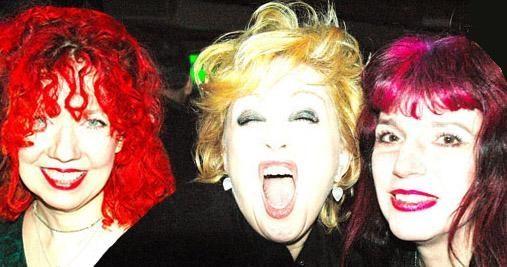 Manic Panic NYC Snooky, Cyndi Lauper, Tish