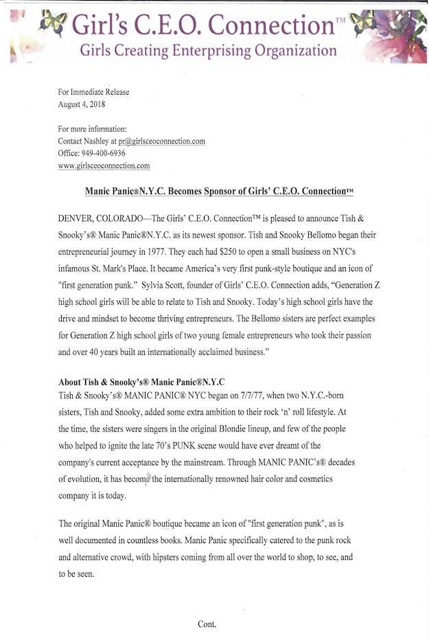 August 4 PR copy