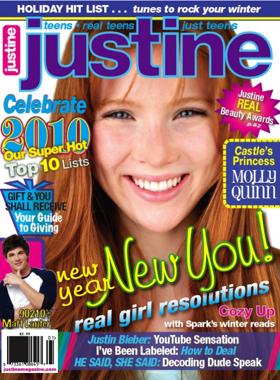 Girls' C.E.O. Connection - Justine Magazine